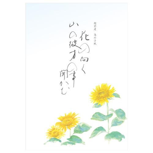 KSE B5便箋 向日葵