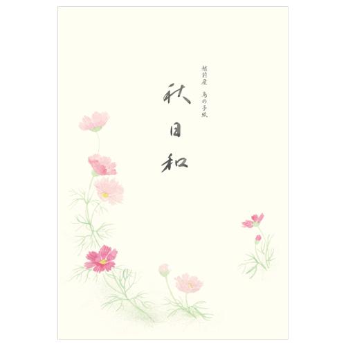 KBN B5便箋 秋桜