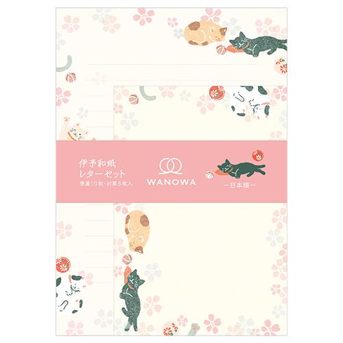 WW A5レターセット 日本猫
